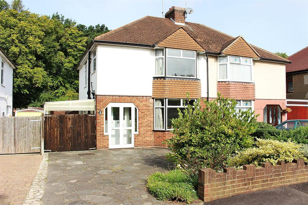 3 Bedrooms Semi Detached House for sale in Firbank Road, St. Albans