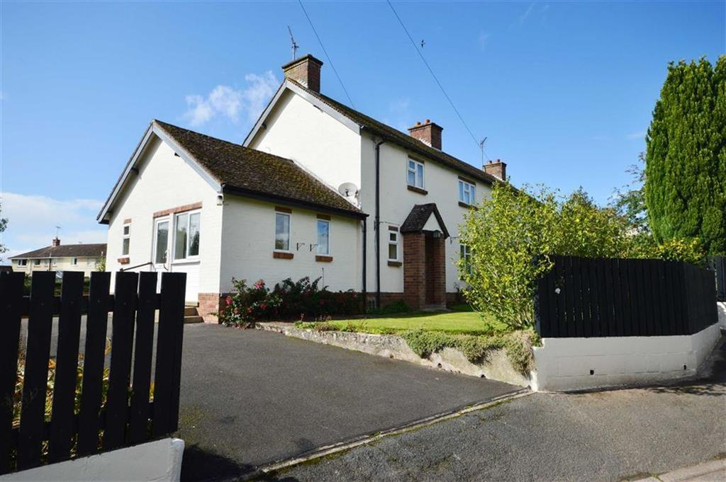 3 Bedrooms Semi Detached House for sale in 1, West View, Almeley, Herefordshire, HR3