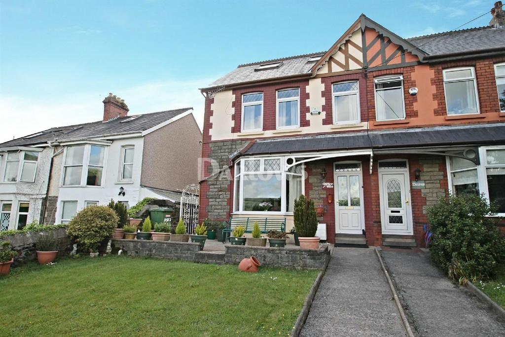 4 Bedrooms Semi Detached House for sale in New park terrace, Treforest