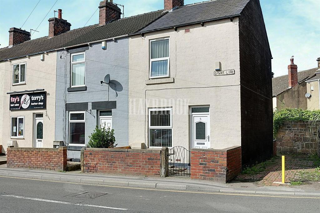2 Bedrooms End Of Terrace House for sale in Spark Lane, Mapplewell