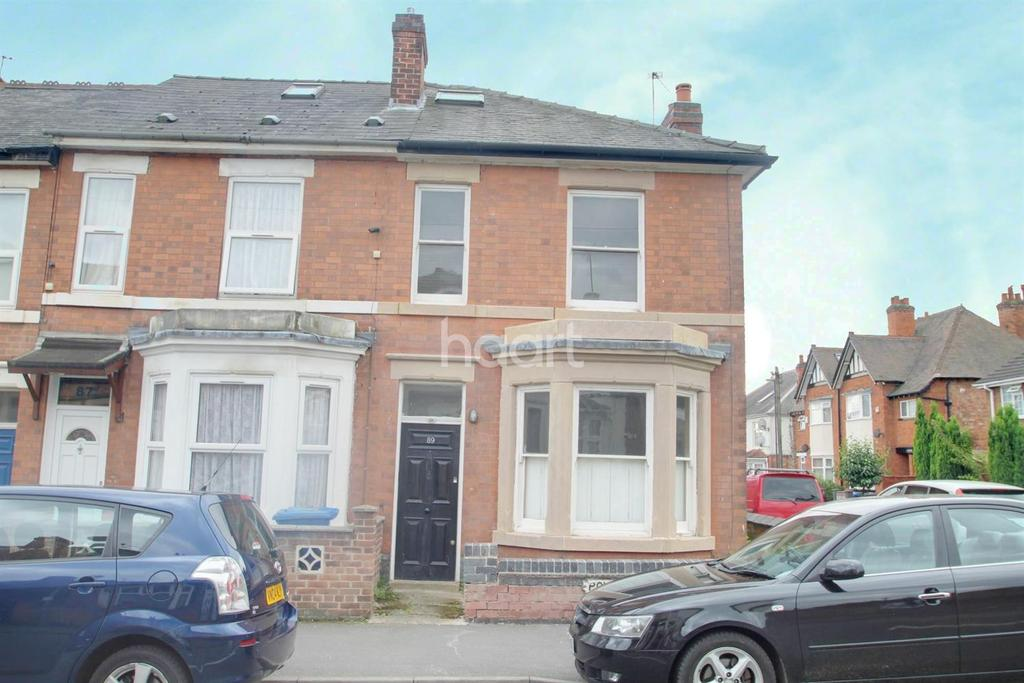 3 Bedrooms End Of Terrace House for sale in Powell Street, Derby