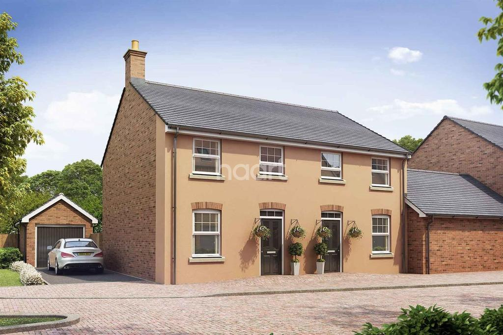 3 Bedrooms Semi Detached House for sale in King's Wood Gate, Monmouth