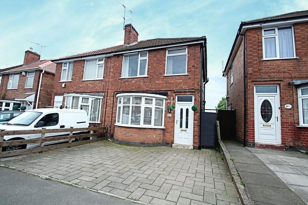 3 Bedrooms Semi Detached House for sale in Henley Crescent, Leicester