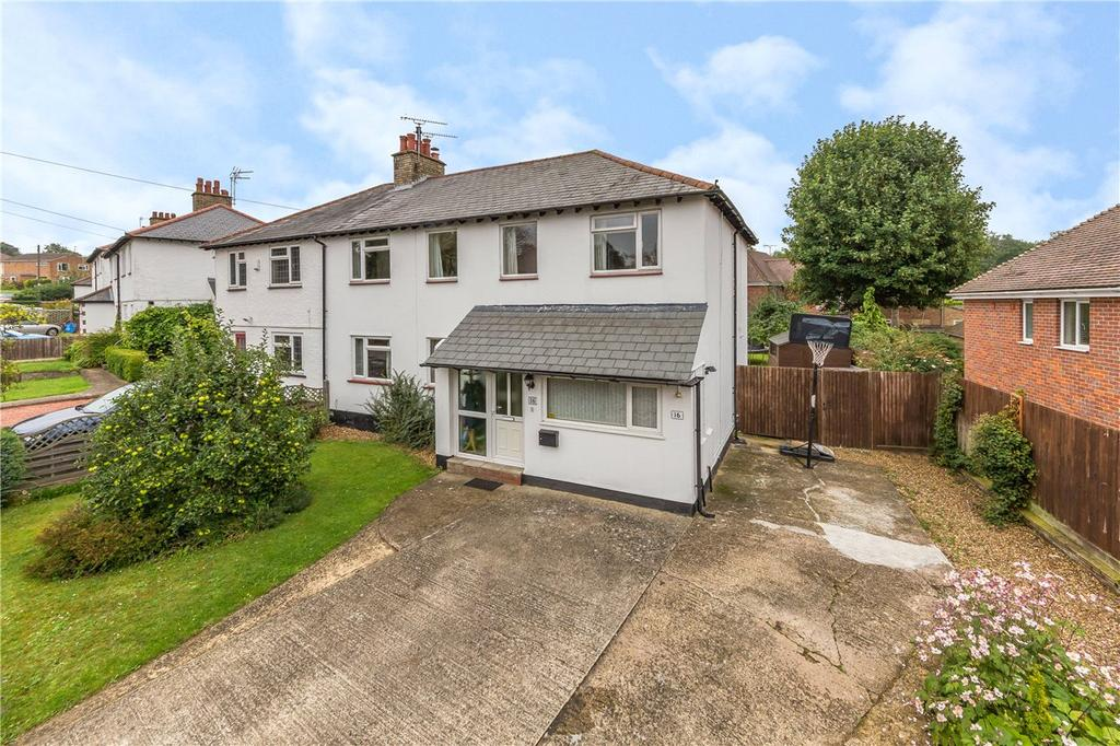 4 Bedrooms Semi Detached House for sale in Station Road, Digswell, Welwyn, Hertfordshire