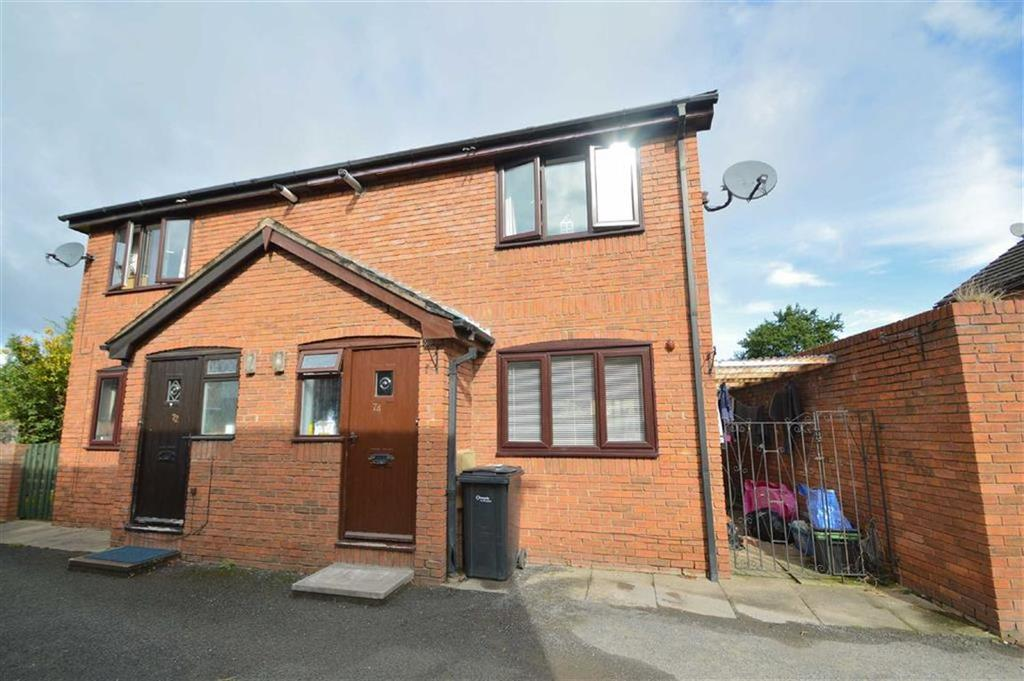 2 Bedrooms Semi Detached House for sale in Clive Road, Monkmoor, Shrewsbury