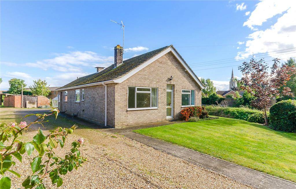 3 Bedrooms Detached Bungalow for sale in Billingborough Road, Horbling, Sleaford, Lincs, NG34