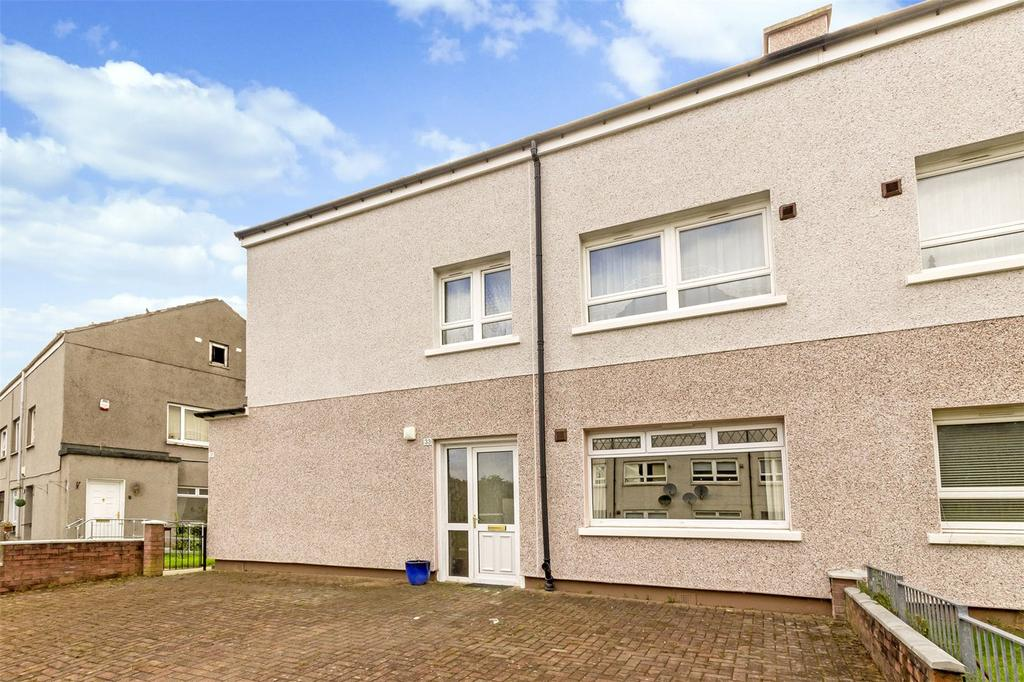 2 Bedrooms Flat for sale in 33 Rylees Crescent, Penilee, Glasgow, G52