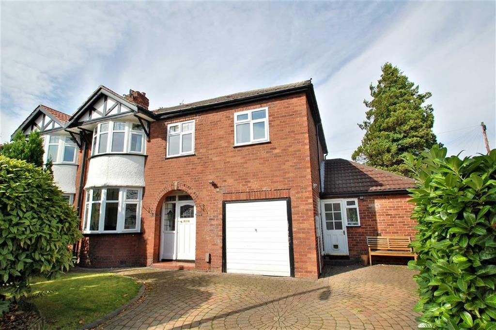 4 Bedrooms Semi Detached House for sale in Glendene Avenue, Bramhall, Cheshire
