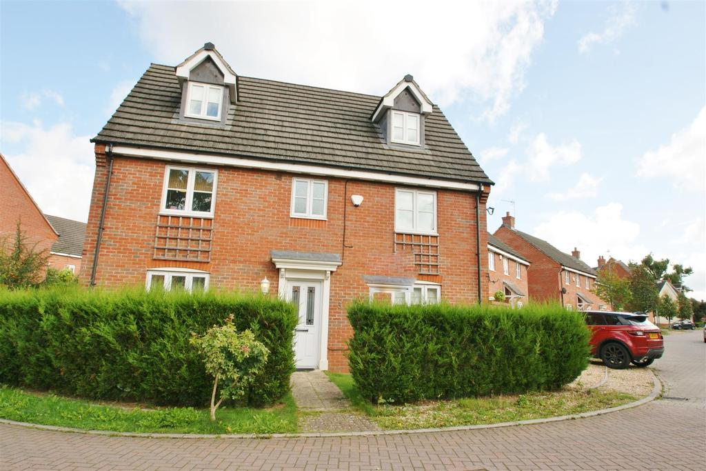 5 Bedrooms Detached House for sale in Woodleigh Road, Long Lawford, Rugby