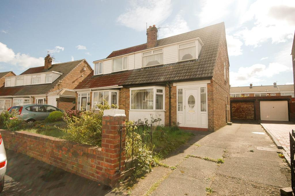 3 Bedrooms Semi Detached House for sale in Allendale Drive, South Shields