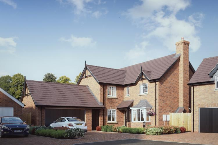 4 Bedrooms Detached House for sale in Plot 8, The Exeter, Chetwynd, Newport, TF10 7JZ