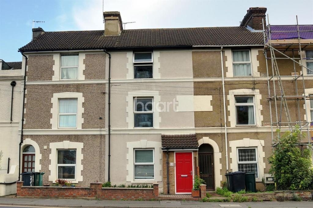 4 Bedrooms Terraced House for sale in Somerset Road, Ashford, TN24 8EJ