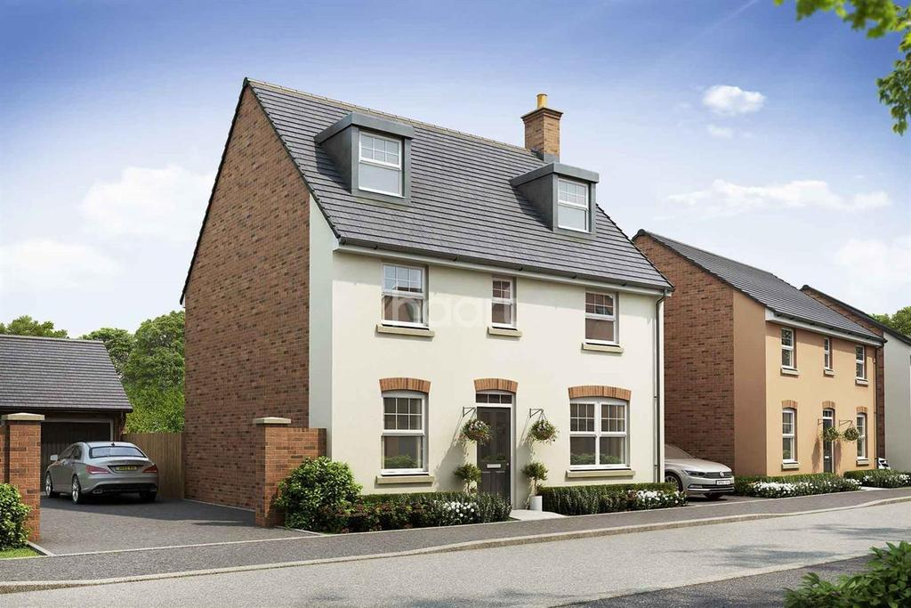 5 Bedrooms Detached House for sale in Plot 74 King's Wood Gate, Monmouth