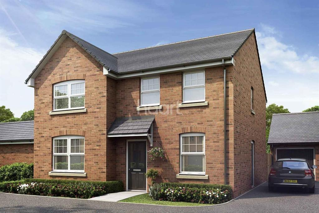 4 Bedrooms Detached House for sale in Plot 72, King's Wood Gate, Monmouth