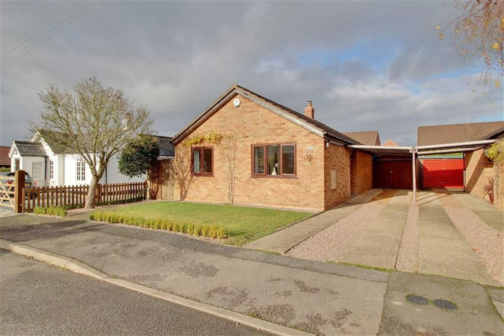 3 Bedrooms Detached Bungalow for sale in Prince Crescent, Staunton