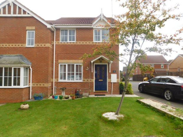 3 Bedrooms Semi Detached House for sale in FORDHAM DRIVE, SACRISTON, DURHAM CITY : VILLAGES WEST OF