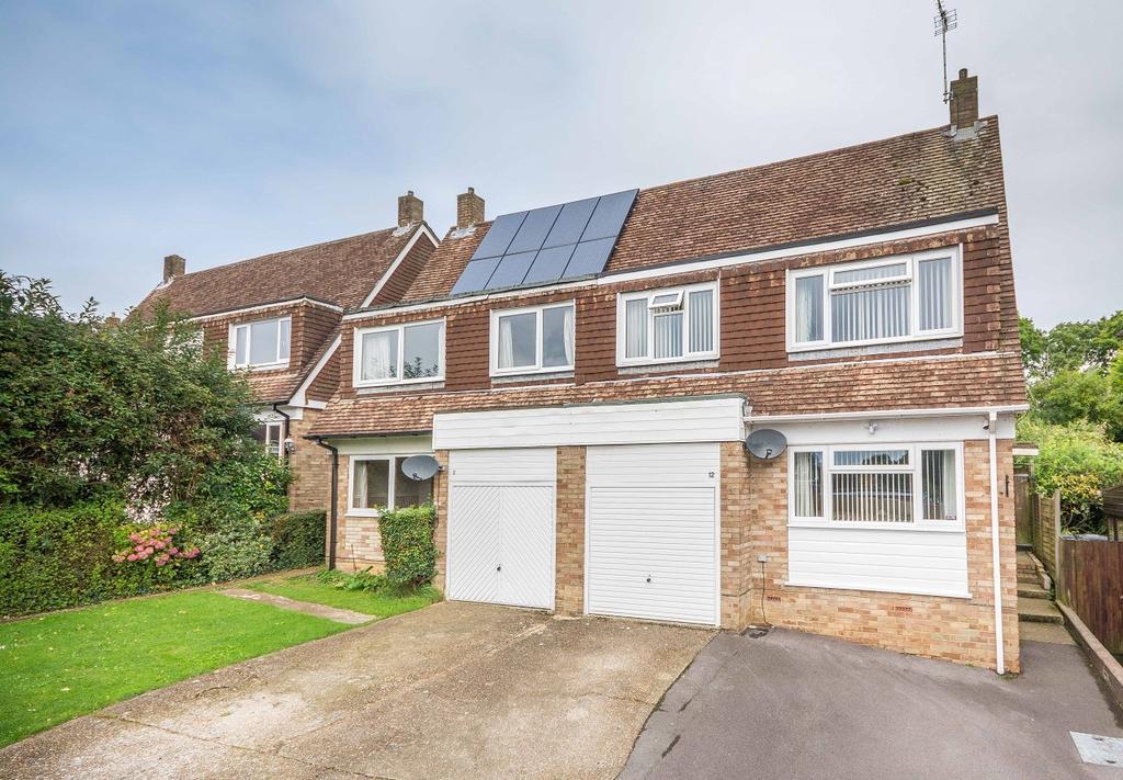 4 Bedrooms Semi Detached House for sale in Estridge Close, Bursledon, Southampton SO31