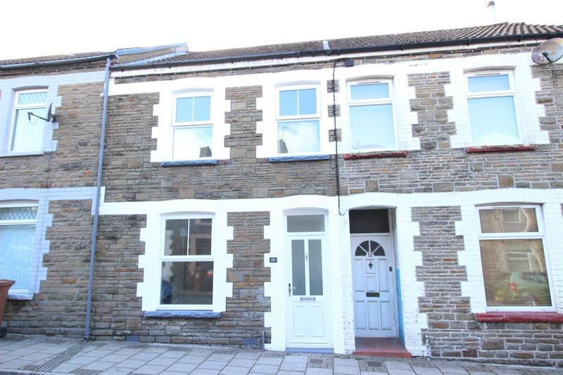 3 Bedrooms Terraced House for sale in Goodrich Street, Caerphilly