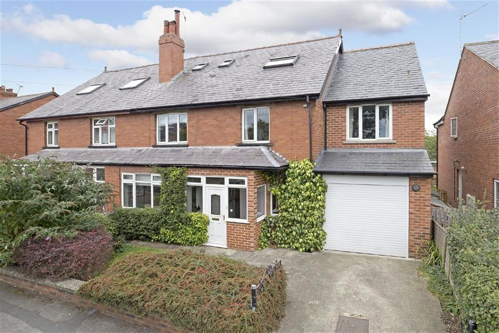 5 Bedrooms Semi Detached House for sale in Stockdale Walk, Knaresborough, North Yorkshire