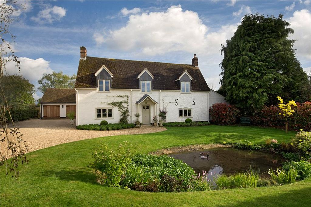 4 Bedrooms Detached House for sale in Roke, Wallingford, OX10