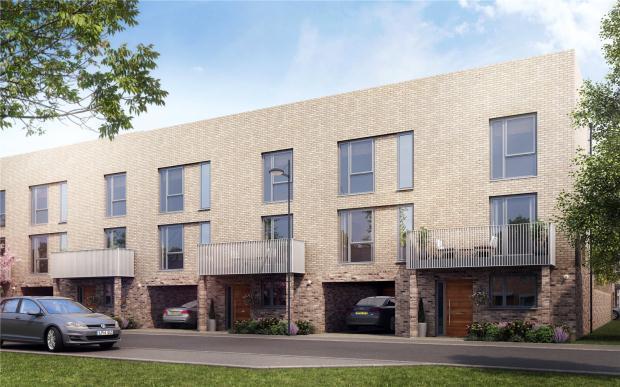 4 Bedrooms Terraced House for sale in Trumpington Meadows, Hauxton Road, Trumpington, Cambridge