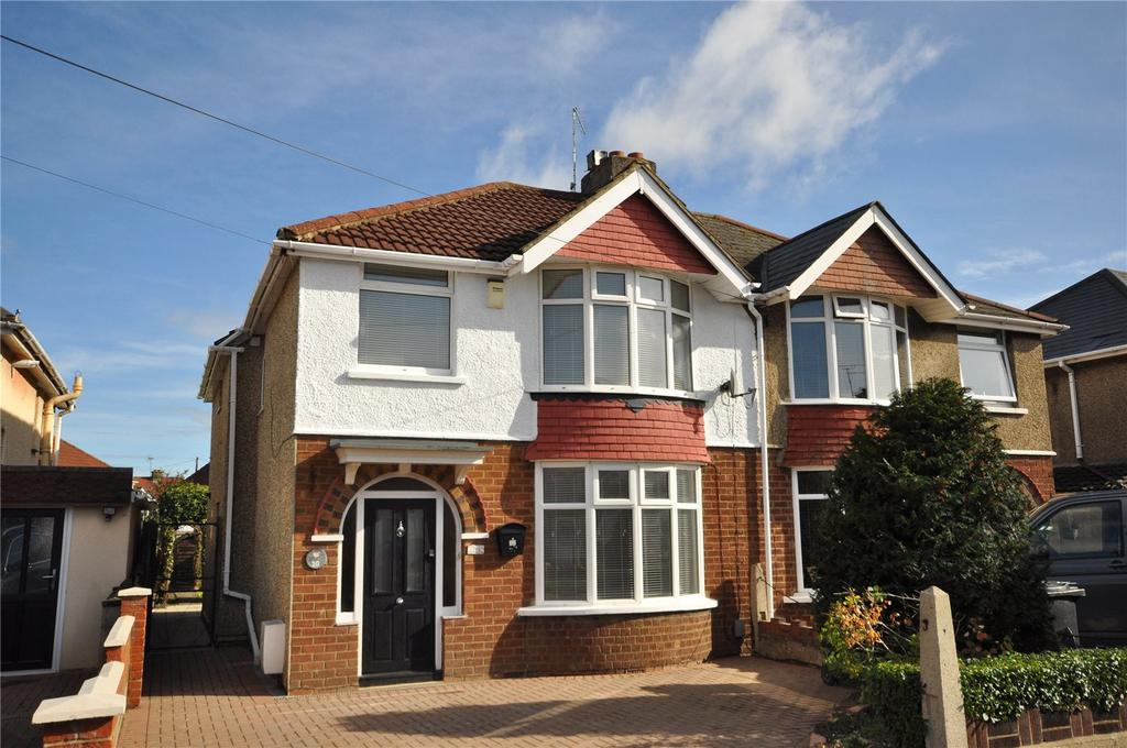 4 Bedrooms Semi Detached House for sale in Bampton Grove, Old Walcot, Swindon, Wiltshire, SN3