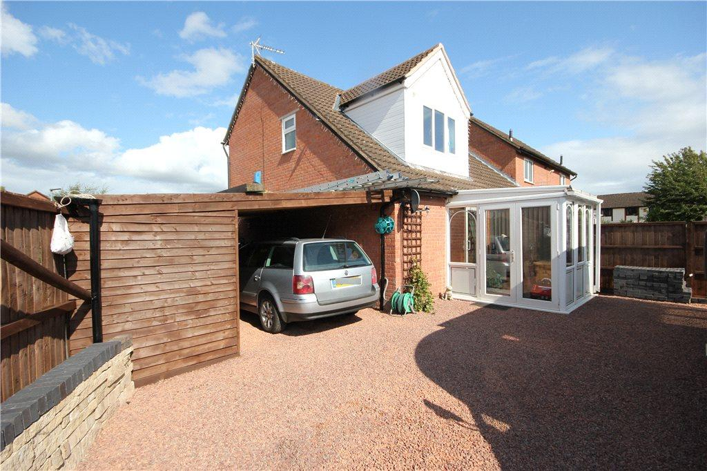 2 Bedrooms End Of Terrace House for sale in Thomas Close, Hereford, HR2