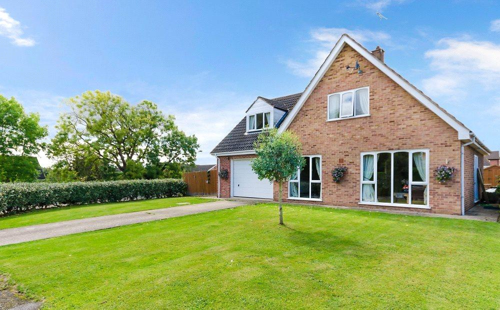 4 Bedrooms Detached House for sale in Home Close, Bourne, PE10