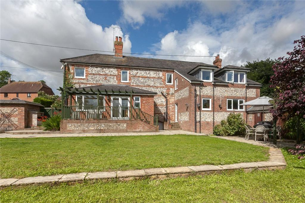 4 Bedrooms Detached House for sale in Collingbourne Kingston, Marlborough, Wiltshire, SN8