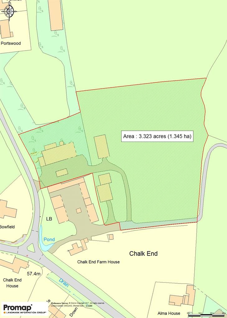 Plot Commercial for sale in Chalk End, Roxwell, Chelmsford, CM1