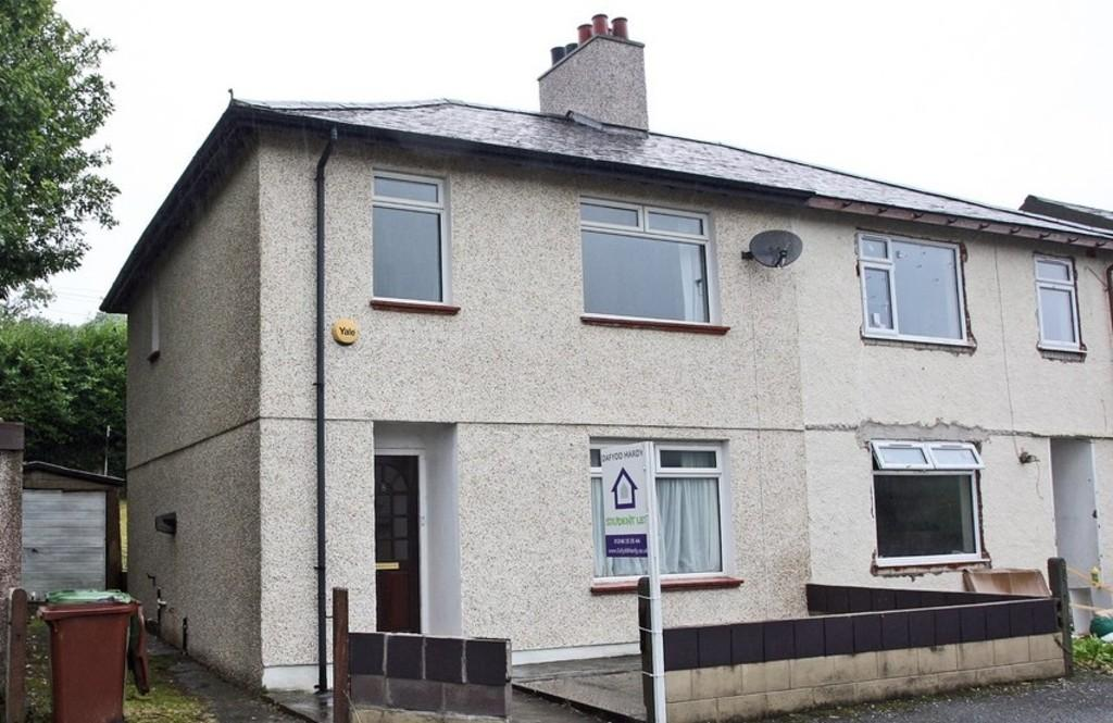 4 Bedrooms Semi Detached House for sale in Cae'r Deon, Bangor, North Wales