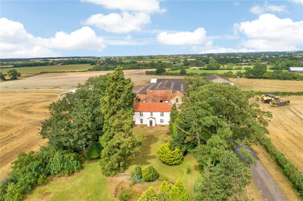 5 Bedrooms Detached House for sale in Gautby House Farm, Gautby, Lincolnshire, LN9