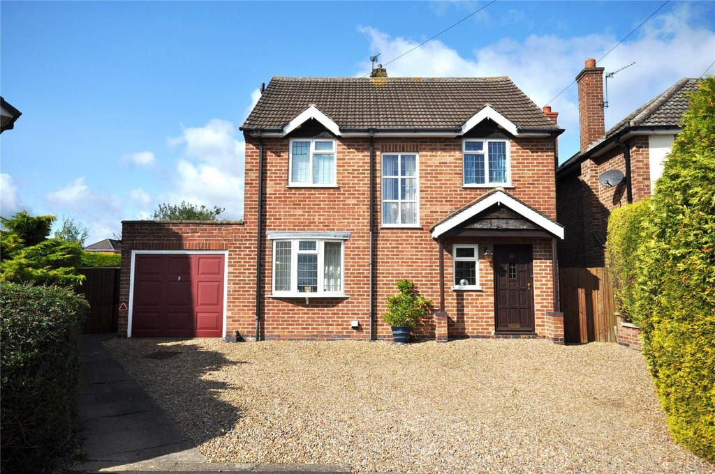 3 Bedrooms Detached House for sale in Abingdon Road, Melton Mowbray, Leicestershire