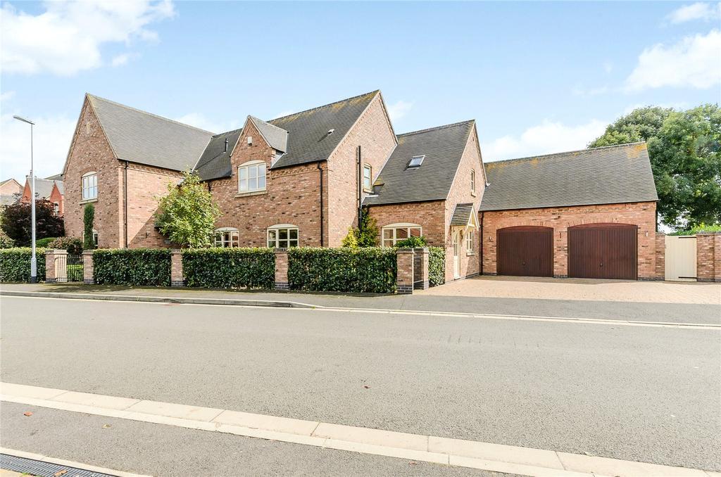 5 Bedrooms Detached House for sale in Corner Farm Close, Rolleston, Newark, Nottinghamshire, NG23