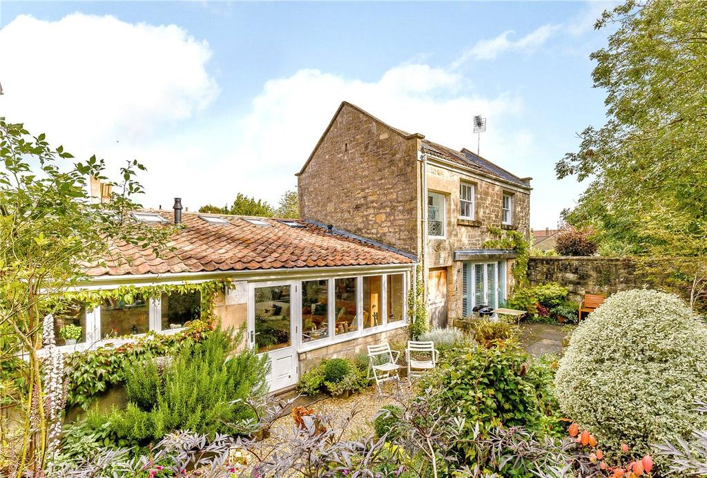 4 Bedrooms End Of Terrace House for sale in Greendown Place, Bath, Somerset, BA2