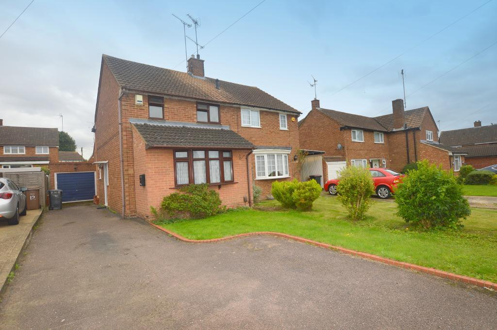 3 Bedrooms Semi Detached House for sale in Lime Tree Close, Luton, Bedfordshire, LU3 3JH