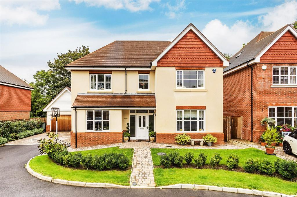 5 Bedrooms Detached House for sale in Fairfield Close, Mill Hill, Edenbridge, Kent, TN8