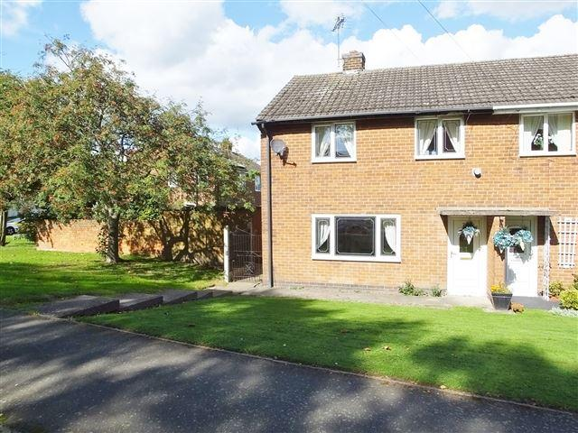 3 Bedrooms Semi Detached House for sale in Reynard Crescent, Renishaw, S21 3WD