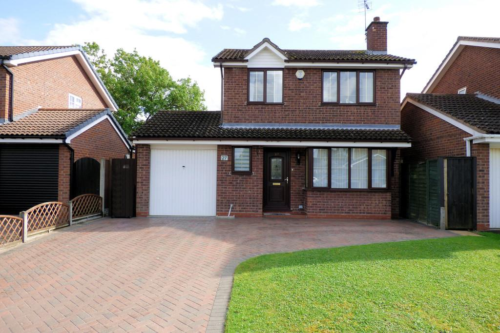 3 Bedrooms Detached House for sale in Longbow Close, Stretton