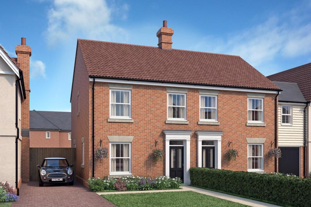 3 Bedrooms Semi Detached House for sale in Plot 67 - Summers Parks, Cox's Hill, Lawford, CO11 2EN