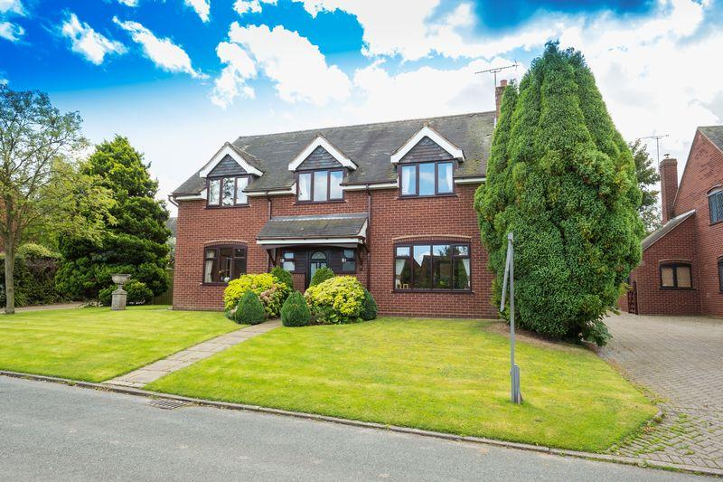 4 Bedrooms Detached House for sale in Lavender House, Lapley, Stafford