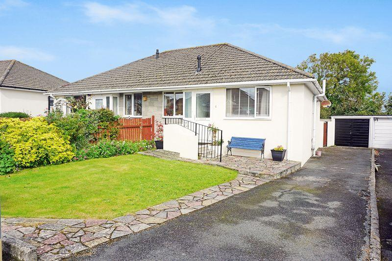2 Bedrooms Semi Detached Bungalow for sale in Woodley Close, Bude