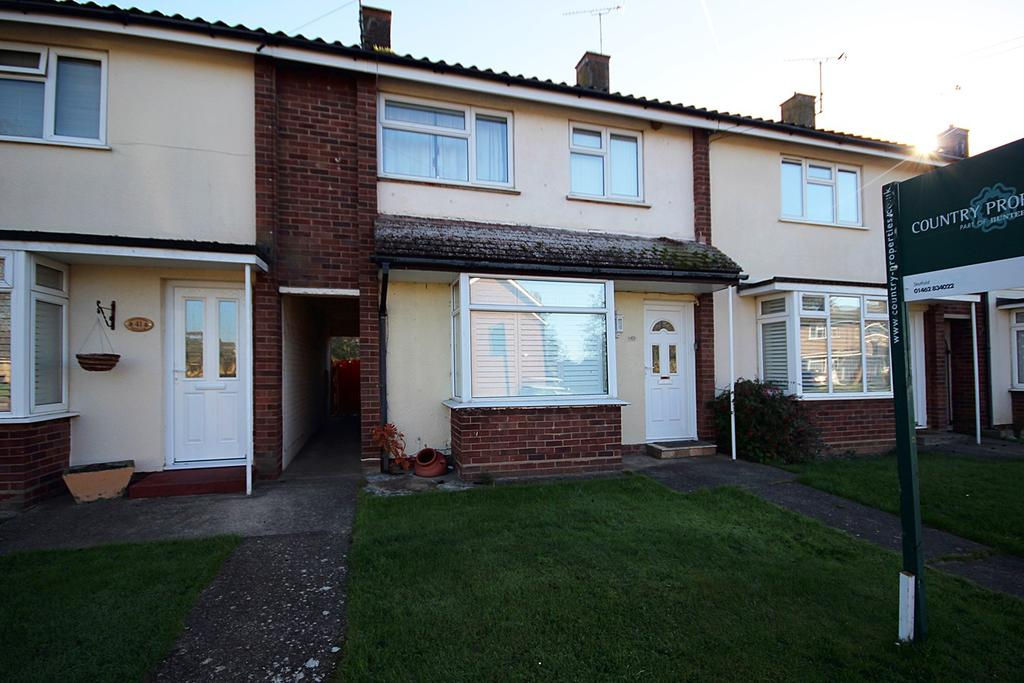 3 Bedrooms Terraced House for sale in Groveside, HENLOW, SG16
