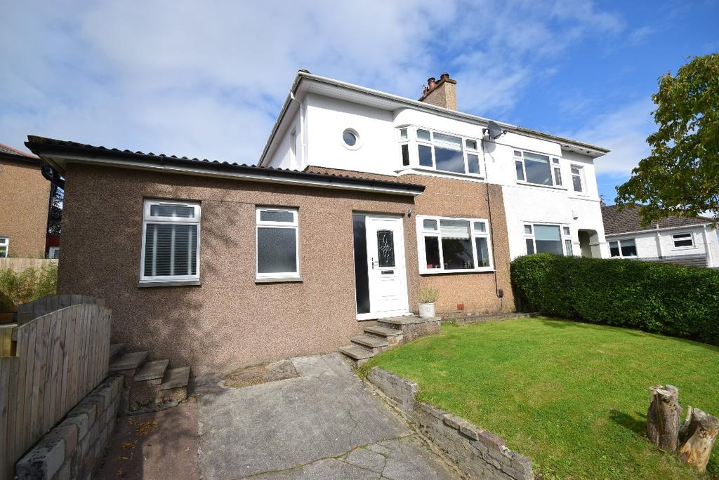 3 Bedrooms Semi-detached Villa House for sale in Quarrybrae Avenue, Clarkston, Glasgow, G76 7SA