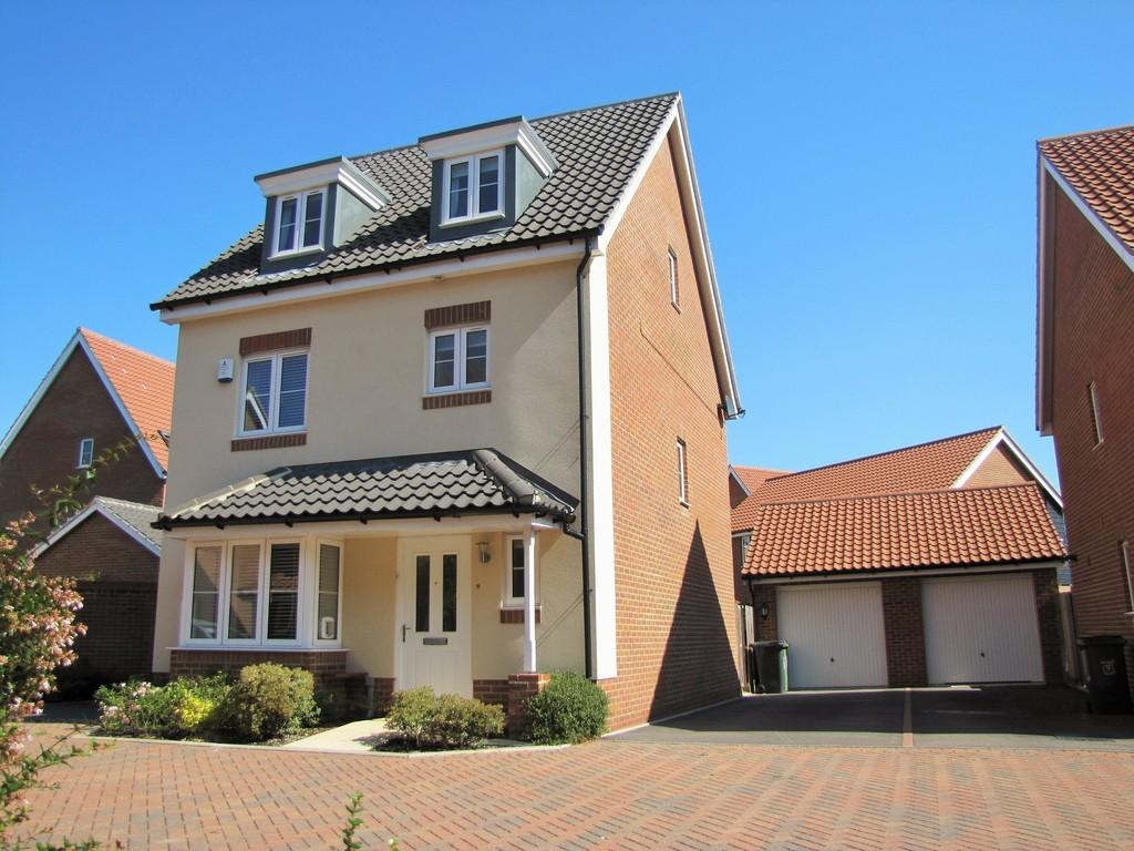 4 Bedrooms Detached House for sale in Cringleford