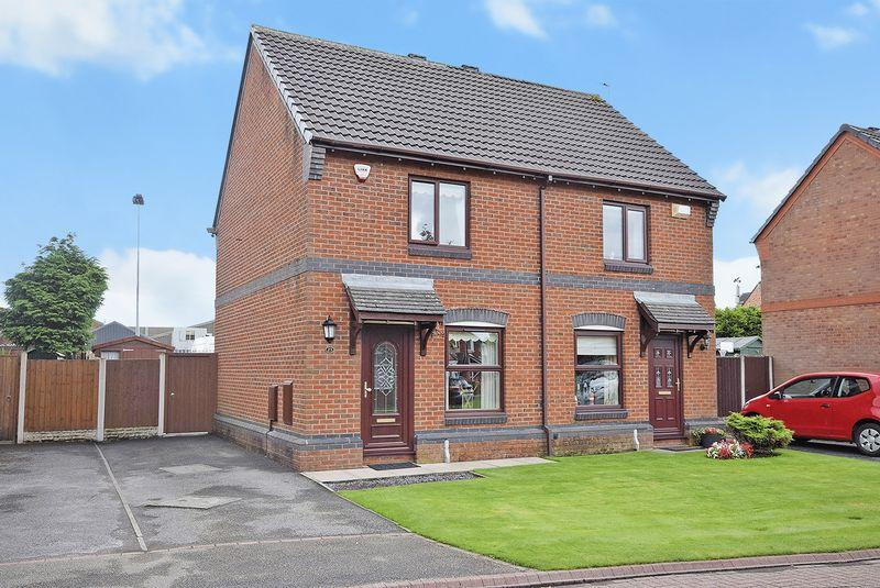 2 Bedrooms Semi Detached House for sale in Eastbury Close, WIDNES