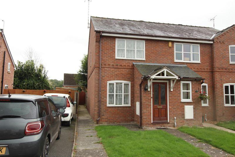 2 Bedrooms End Of Terrace House for sale in Bryn Y Pys Court, Overton, Wrexham