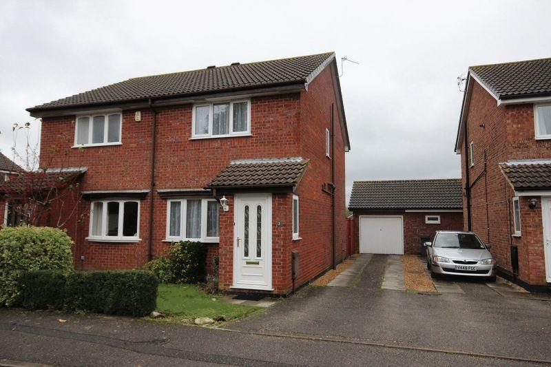 2 Bedrooms Semi Detached House for sale in Elise Close, Castledean Park, Littledown