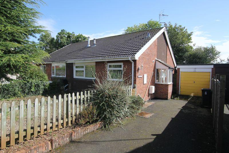 2 Bedrooms Semi Detached Bungalow for sale in Sling Orchard, Bromyard
