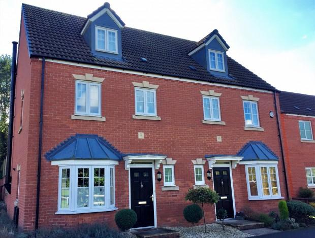 4 Bedrooms Semi Detached House for sale in Kipling Drive, Melton Mowbray, LE13